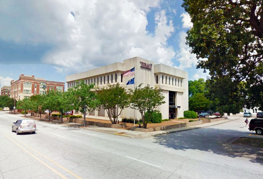 branch banking and trust company greenville sc